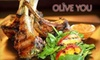 Olive You Kirkland - Moss Bay: $20 for $40 Worth of Mediterranean Fare and Drinks at Olive You in Kirkland