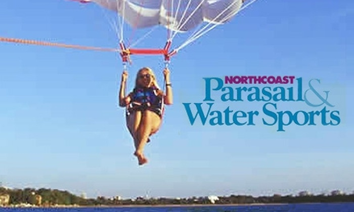 North Coast Parasail - Sandusky: $60 for a 15-Minute Super-Deluxe Parasail Ride at North Coast Parasail ($130 Value)