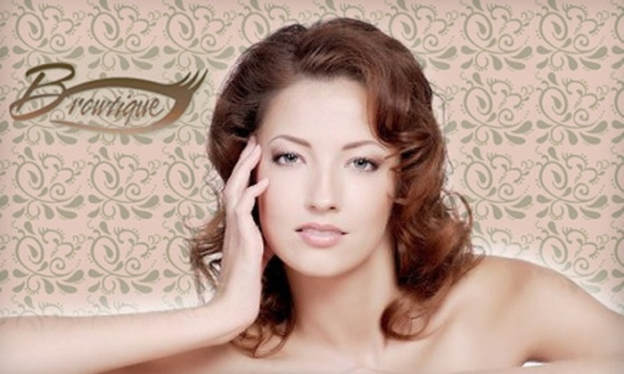 Browtique - Rancho Santa Fe: $40 for $100 Worth of Salon Services at Browtique