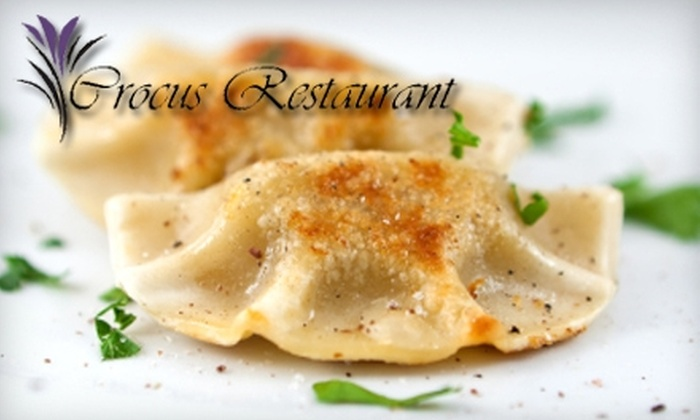 Crocus Restaurant - Morgandale: $12 for $25 Worth of Polish Fare at Crocus Restaurant on South 13th Street