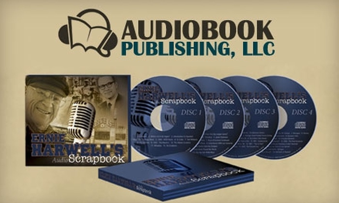 Audio Scrapbook of Ernie Harwell: $12 for Ernie Harwell Audio Scrapbook ($24.79 Value)
