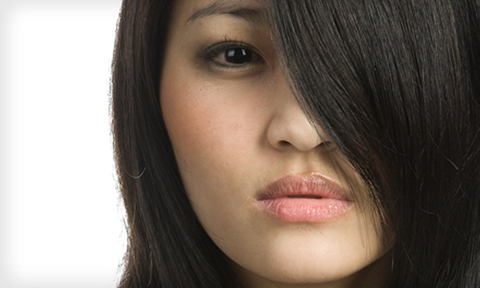 Silk Hair Spa - Sayville: Haircut-and-Style Package or Highlights Package at Silk Hair Spa in Sayville (Up to 57% Off)