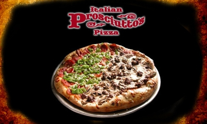 Prosciutto's Pizzeria & Pub - Cornelius: $15 for $30 Worth of Food and Drinks at Prosciutto's Pizzeria