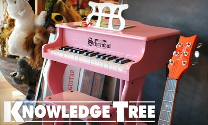 Knowledge Tree - Midtown: $25 for $50 Worth of Children's Toys, Games and Books at Knowledge Tree