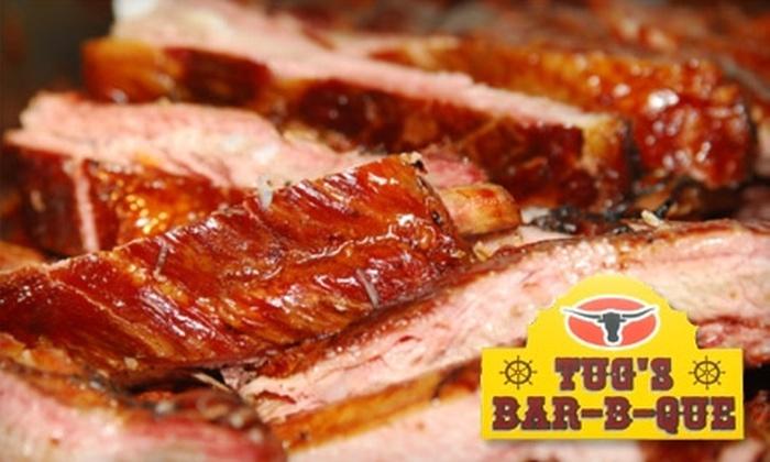 Tug's Bar-B-Que - Lago Vista: $10 for $20 Worth of Barbecue Fare at Tug's Bar-B-Que in Lago Vista