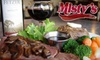 Misty's - Multiple Locations: $15 for $30 Worth of Steaks and Microbrews at Misty's