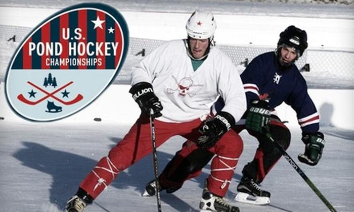 U.S. Pond Hockey Championships - Minneapolis / St Paul: $150 for Timberland Boot-Hockey Tournament Team Registration at U.S. Pond Hockey Championships