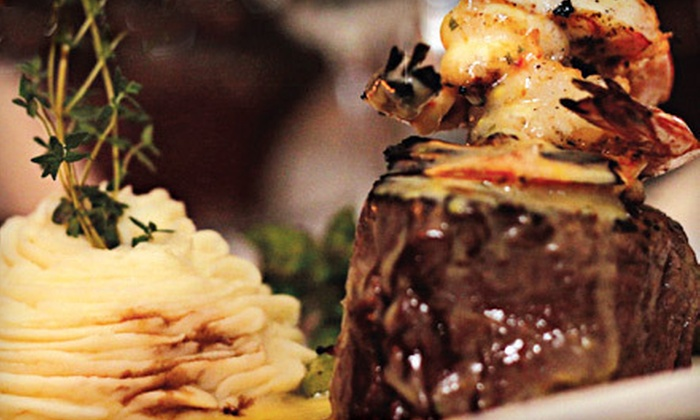 Dino's Steak and Claw House - Grapevine: $25 for $50 Worth of Steak and Seafood at Dino's Steak and Claw House