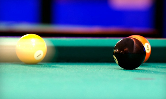 Pyramida Billiards - Brooklyn: Two Hours of Pool for Two or Four with Beer and Optional Hookah at Pyramida Billiards (Up to 60% Off)