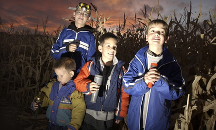 Gull Meadow Farms - Richland: $8 for Night-Maze Outing for Two at Gull Meadow Farms (Up to $16 Value)