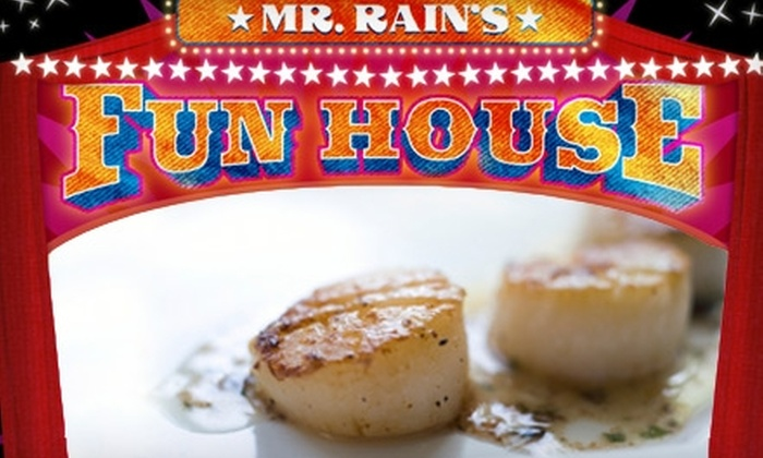 Mr. Rain's Fun House - Federal Hill-Montgomery: $20 for $40 Worth of Inventive International Comfort Fare and Daring Drinks at Mr. Rain's Fun House