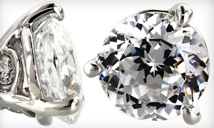 Kassab Jewelers - Multiple Locations: $89 for Tacori IV Sterling-Silver Earrings at Kassab Jewelers ($178 Value)