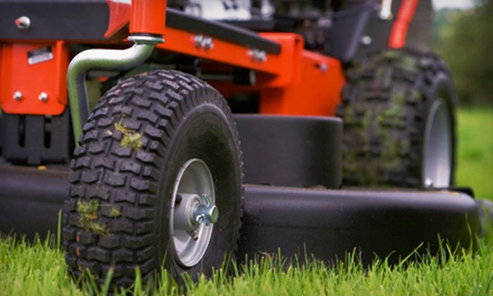 Holland Family Green N' Clean - Piedmont Triad: One, Two, or Four Lawn-Mowing Services for Up to a Half Acre from Holland Family Green N' Clean (Up to 65% Off)