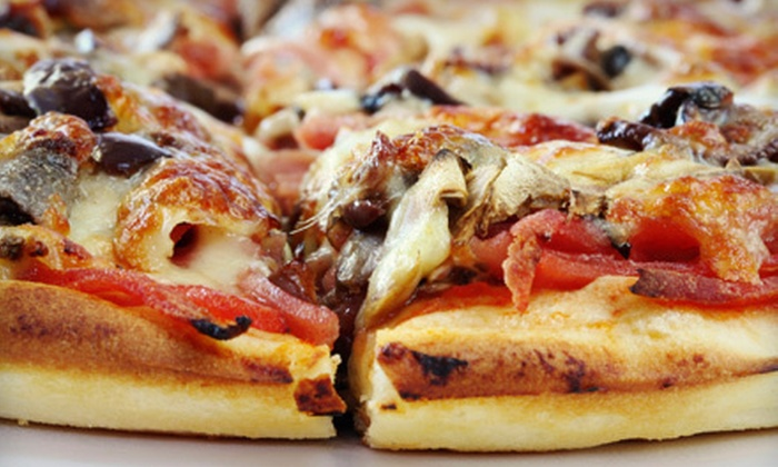 Brothers Pizza Express - Estrella Camp: $10 for $20 Worth of Pizza and Drinks at Brothers Pizza Express in Goodyear