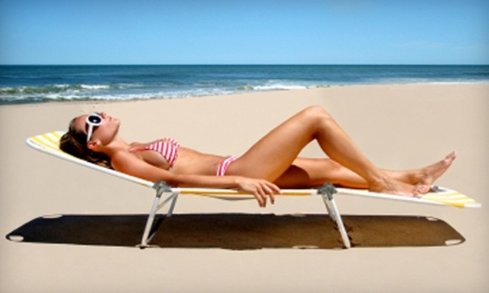 Tan Republic - Multiple Locations: $20 for Two Mystic Tanning Sessions at Tan Republic (Up to $70 Value)