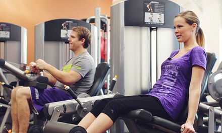 Three-Month Membership with a Personal-Training Session at Anytime Fitness Richmond (66% Off)
