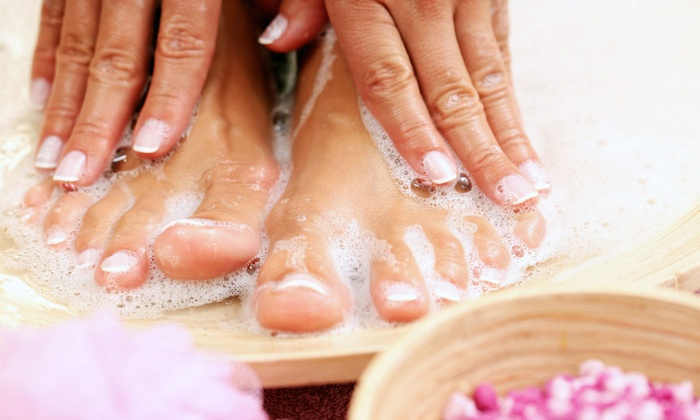 Bryce Anderson Salon - North Raleigh: One or Two Mani-Pedis at Bryce Anderson Salon (Up to 70% Off)