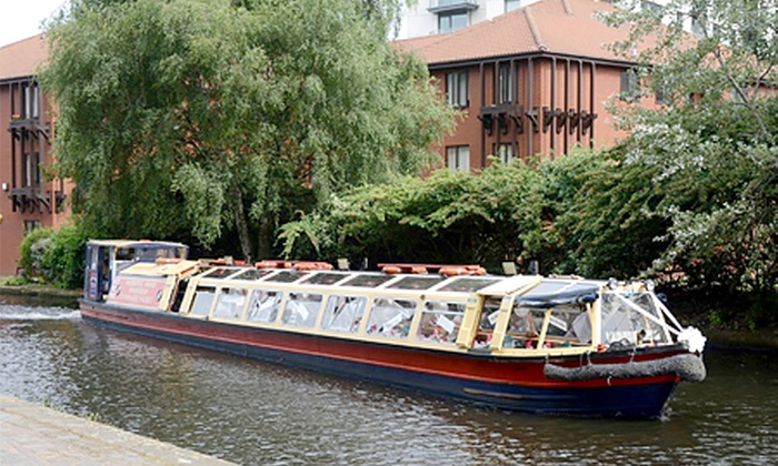 Sherborne Wharf Heritage Narrowboats - Birmingham: Historic Canal Cruise from £3 with Sherborne Wharf Heritage Narrowboats (50% Off)