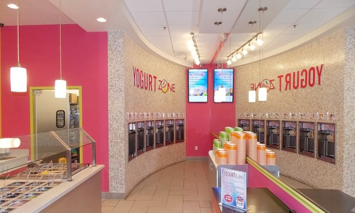 Yogurt Zone Willowbrook Mall - Willowbrook: $12 for Four Groupons, Each Good for $5 Worth of Fro-Yo at Yogurt Zone in Willowbrook Mall ($20 Value)