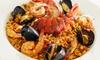 Las Especias - Restaurante Las Especias: Arroz con carabineros o paella para dos o cuatro con entrante, postre y botella de vino desde 29,95 €