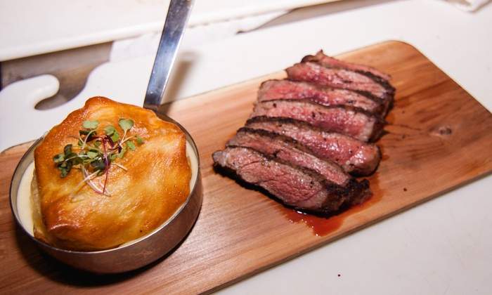 4935 Bar and Kitchen - 4935 Bar and Kitchen: $65 for Upscale Fusion Cuisine and Drinks for Two at 4935 Bar and Kitchen ($99 Value)