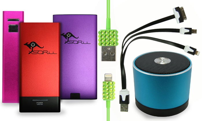 Battery on the Go - Deerfield Beach: Battery-Charging Devices or Bluetooth Speakers from Battery on the Go  (Up to 73% Off). Six Options Available.