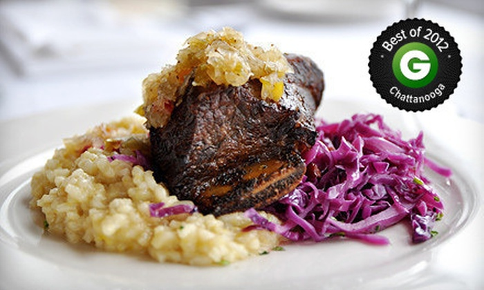 Back Inn Café - Downtown Chattanooga: $20 for $40 Worth of Global Cuisine at Back Inn Café