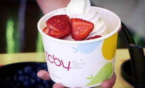 TCBY: $10 for Five Groupons, Each Good for $4 Worth of Soft-Serve and Hand-Dipped Frozen Yogurt at TCBY ($20 Total Value)