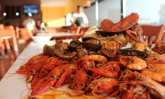 The House of Seafood - Carson: Food and Drink at The House of Seafood for Parties of Two or More (Up to 40% Off). Two Options Available.