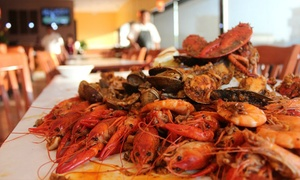 Food and Drink at The House of Seafood for Parties of Two or More (Up to 40% Off). Two Options Available.