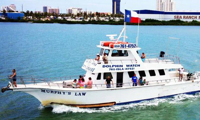 Isla Tours - East Cameron: Four-Hour Port of Brownsville Boat Tour and Lunch for Two or Four from Isla Tours (Up to 51% Off)