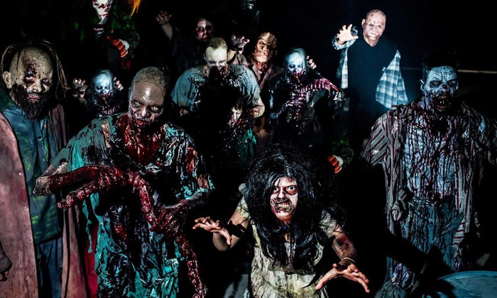 basement of the dead shattered haunted houses aurora two or four