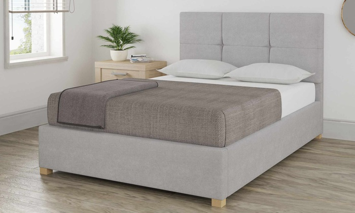 Up To 61 Off Fleetwith Linen Ottoman Bed Frame Groupon