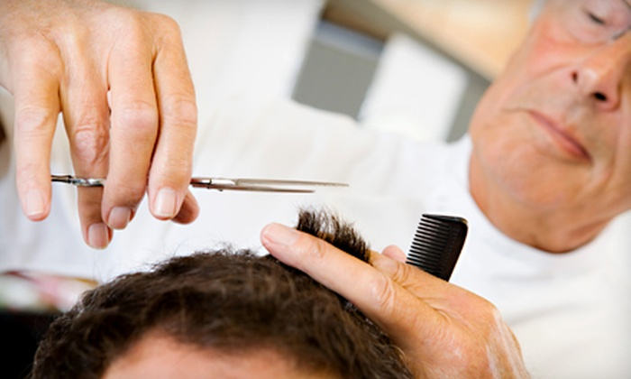 Roosters Men's Grooming Center - Pearland: Up to 55% Off Men's Haircut or Haircut with Shave or Color at Roosters Men's Grooming Center in Pearland