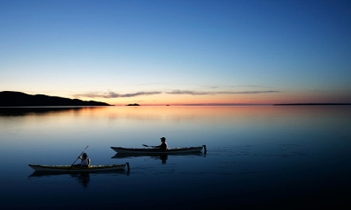 Martha's Vineyard Eco Adventures - Multiple Locations: $25 for a Half-Day Guided Kayak Tour from Martha's Vineyard Eco Adventures ($50 Value)