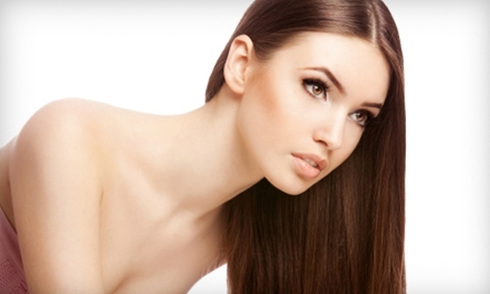 Escape Luxury Salon & Day Spa - Oxnard: $175 for a Keratin-Complex Hair-Smoothing Treatment at Escape Luxury Salon & Day Spa (Up to $450 Value)