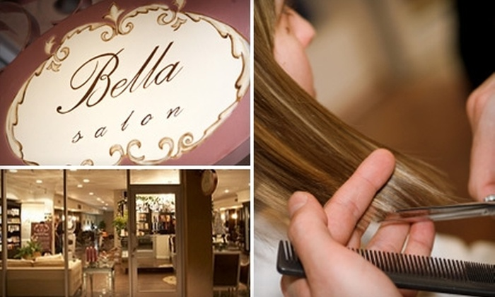 Bella Salon of Naples - Cypress: Luxurious Hair Treatments at Bella Salon of Naples in Long Beach. Choose from Three Options.