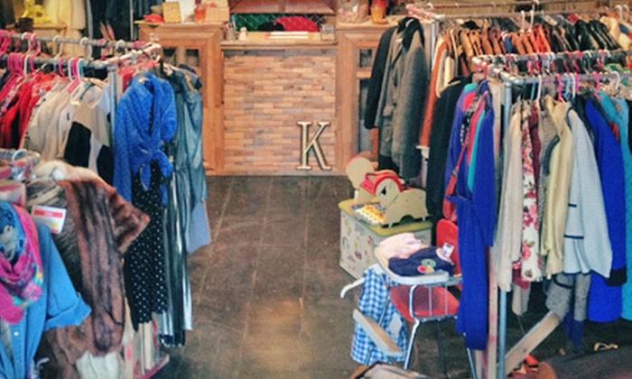 krispyfringe - Ukrainian Village: Vintage Clothing, Accessories, and Home Goods at krispyfringe (Up to 55% Off). Two Options Available.