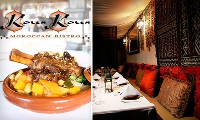 Kous Kous - Hillcrest: $20 for $40 of Moroccan Cuisine and Drinks at Kous Kous