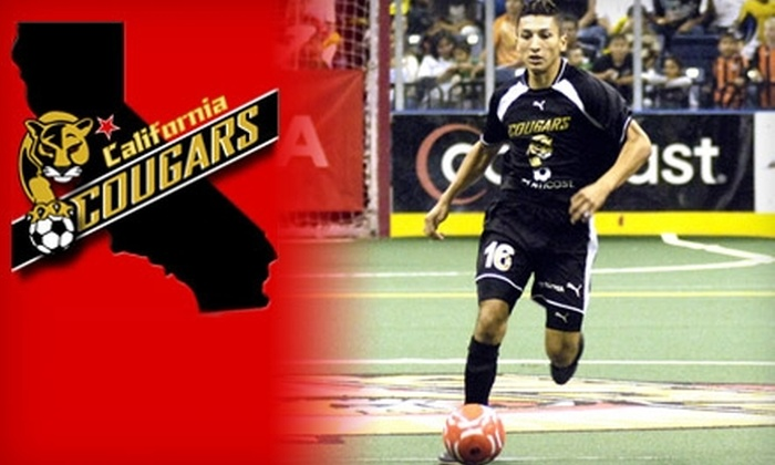 California Cougars - Civic Center: Two Tickets to the California Cougars Arena Soccer Game on December 4. Choose Between Two Seating Options.
