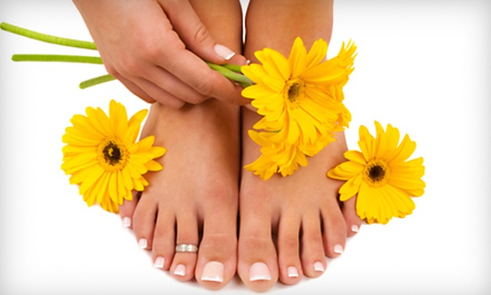 Salon Boutique - Jeannette: Classic Mani-Pedi, Spa Mani-Pedi, or Deluxe Mani-Pedi at Salon Boutique in Jeannette