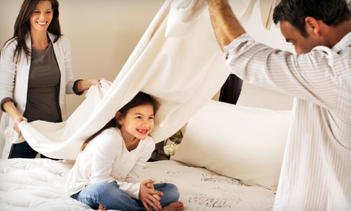 Mattress Mart - Multiple Locations: Mattress Sets at Mattress Mart (Up to 75% Off). Two Options Available.