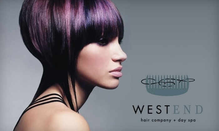 Westend Hair Company & Day Spa - Kern Place: $25 for a Haircut, Massage, or Facial at Westend Hair Company & Day Spa