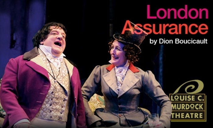 "Murdock Theatre - Historic Midtown: $7 for One Ticket to ""London Assurance"" Broadcast from the National Theatre in London at the Murdock Theatre ($15 Value)"