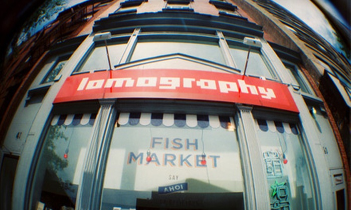 Lomography - Multiple Locations: $20 for $50 Worth of Analogue Cameras and Accessories from Lomography in New York City. Online and In-Store Options Available.