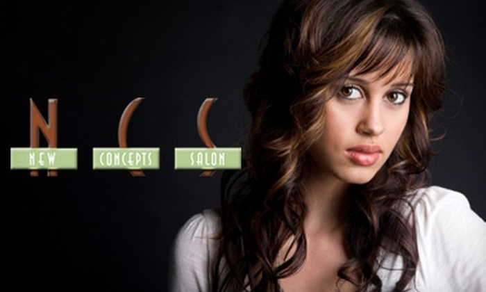 New Concepts Salon - Madison: $20 for $40 of Salon Services or $149 for a Keratin Smoothing Treatment (Up to $300 Value) at New Concepts Salon
