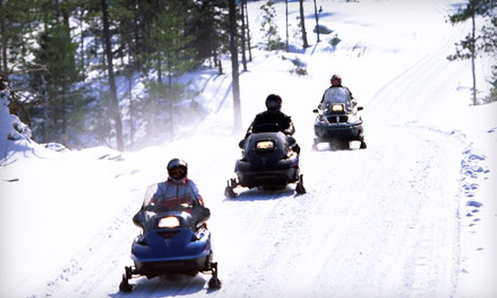 Power Sports Rental Network - Kaukauna: Two-Hour Guided Snowmobile Tour for Two or Four from Power Sports Rental Network in Kaukauna (53% Off)