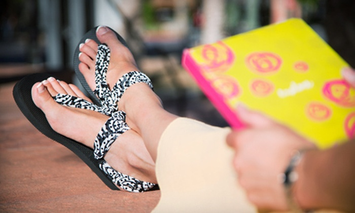 Sadie Jane Boutique - Multiple Locations: $15 for $30 Worth of Customizable Sandals at Sadie Jane Boutique in Scottsdale