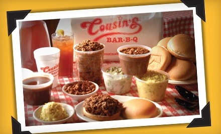 Cousin's Bar-B-Q at 5125 Bryant Irvin Rd. in Fort Worth - Cousin's Bar-B-Q in Fort Worth
