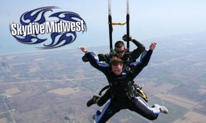 Skydive Midwest - Yorkville: $109 for a Tandem Skydive from Skydive Midwest